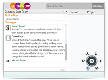 Chat with Findnerd community members